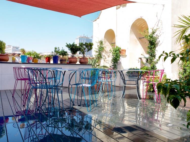 Roof top terrace - breakfast