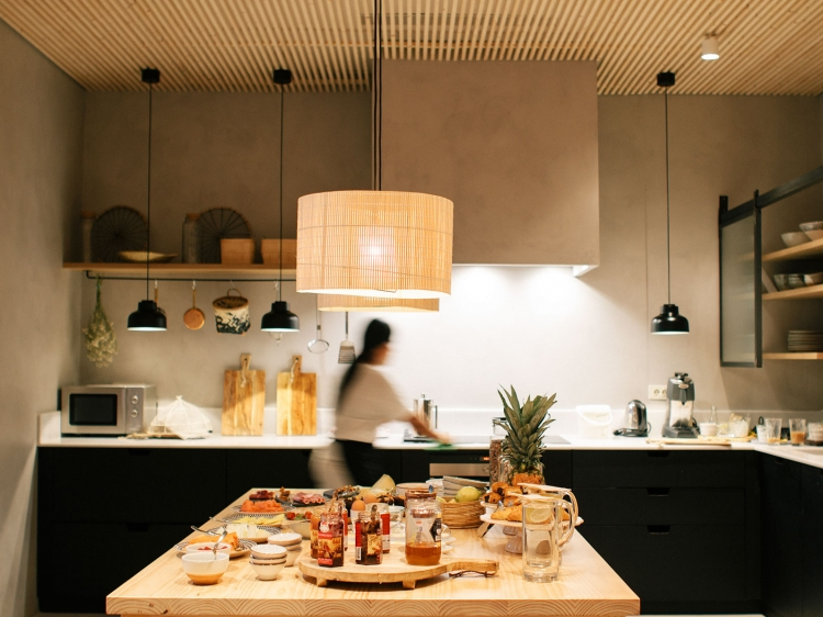 Wohnen im Margot House hotel Barcelona Spanien  Region boutique hotel besonders luxuriös aussergewöhnlich trendig chic cool klein