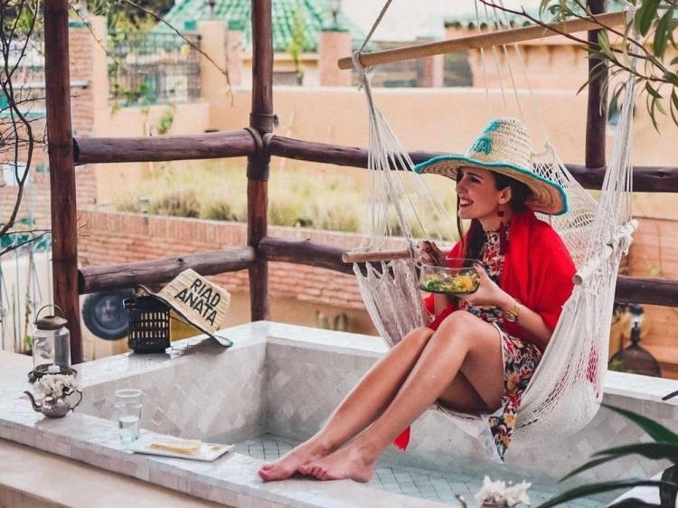 Riad anata fez beste hotel b6b boutique hipster luxus