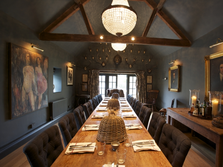 The Wheatsheaf Inn Northleach Gloucestershire England Dinning