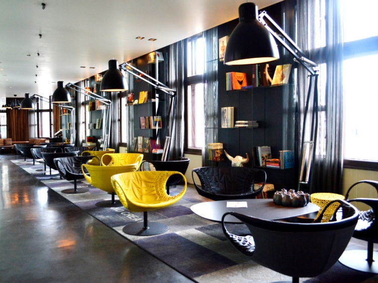 art'otel amsterdam hotel boutique design