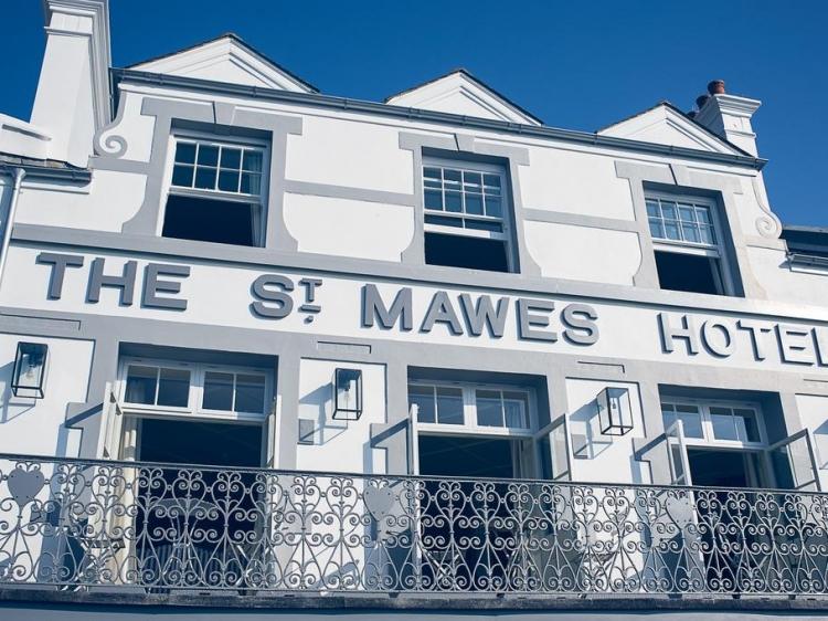 St Mawes Hotel Corwell hotel beste romantik B&B