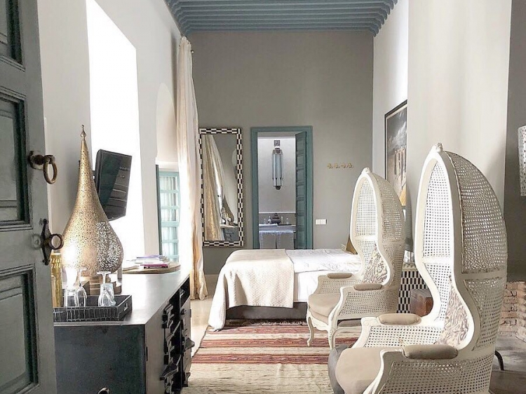 Ryad Dyor Luxus Boutique hotel Marakesh b&b design beste