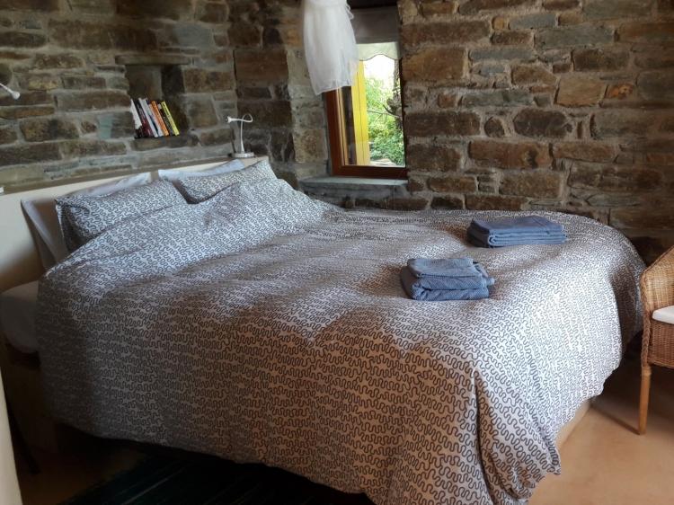 Wohnen im Tinos Small House Potamia Griechenland  boutique hotel besonders luxuriös aussergewöhnlich trendig chic cool klein