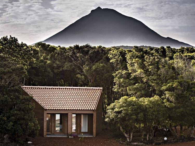 Alma do Pico hotel bungalows  azoren beste
