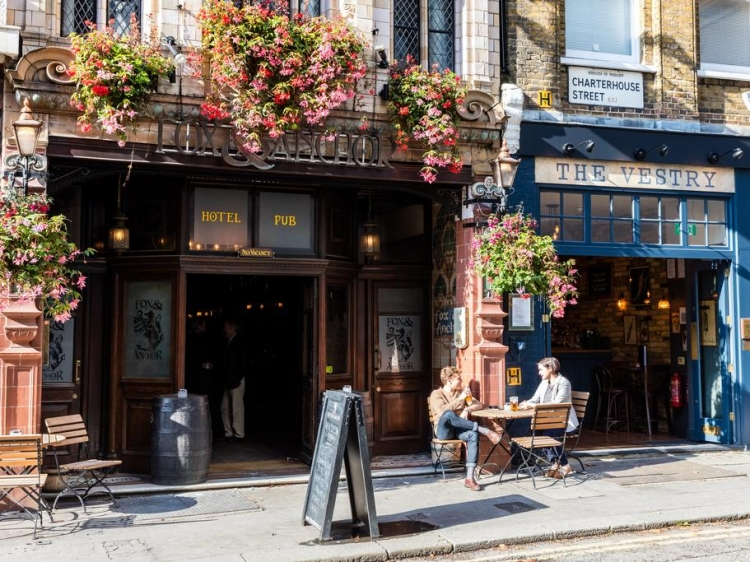 The Fox and Anchor London beste hotel