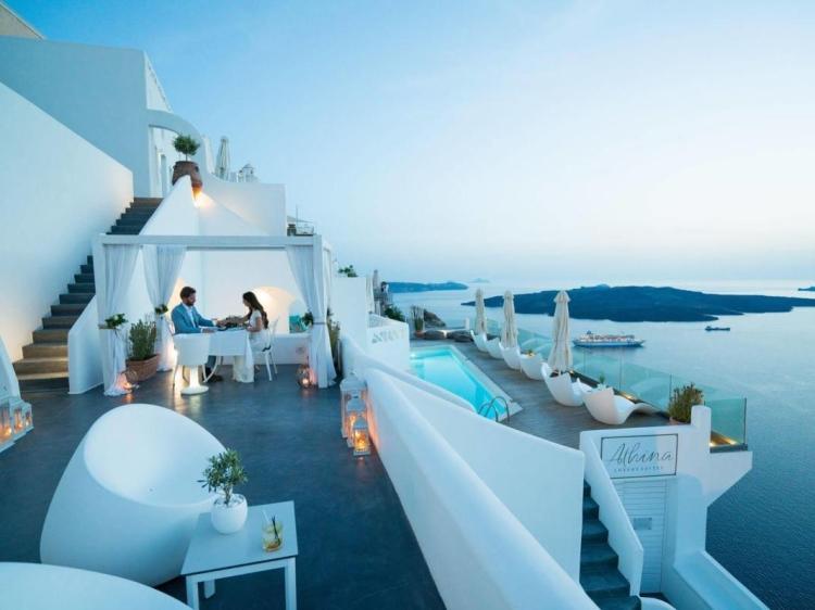 Athina Luxury Suites hotel luxus boutique design santorini beste luxus