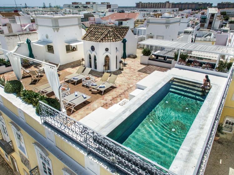 Casa Fuzetta Villa Algarve Portugal Traumhaus mit Terrasse und Pool