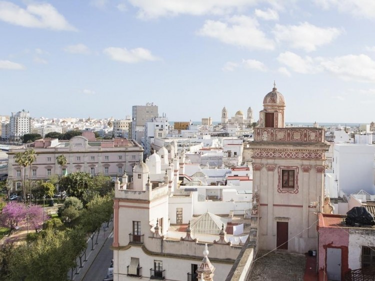 Hotel Casa de las Cuatro Torres Cádiz authentischer Aufenthalt