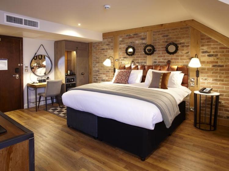 Hotel Indigo York gemütliches Zimmer