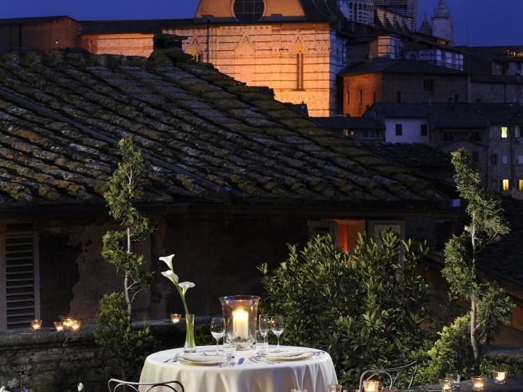 Grand Hotel Continental Tuscany Italy Terrace