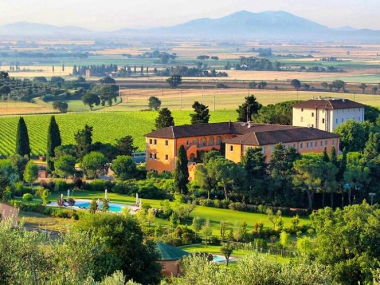 L'Andana Tenuta la Badiola Tuscany Hotel Spa romantic beste