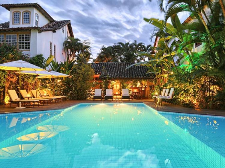 Pousada do Ouro Paraty boutique hotel beste romantik