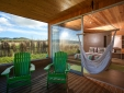 Blue & Green balcony
