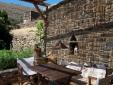 Wohnen im Tinos Small House Potamia Griechenland frische luft frieden glück