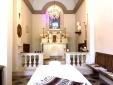La Capelle - the private chapel at Villa Barca - massage service available