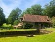 Le Moulin Chalais Dordogne Frieden Garten Natur