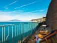 Villa Tozzoli House Sorrento Italien Zufluchtsort an der Küste