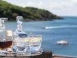 Wohnen im Salcombe Hotel & Spa Getränke Meerblick England