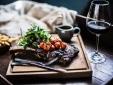wohnen Coach House at Middleton Lodge Middleton Tyas north yorkshire essen wein entspannung frische produkte