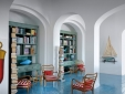Maison La Minervetta Sorrento Italy Library