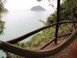 Ilha do Toque Boutique Hotel Blick auf die Veranda