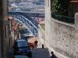 "D. Luis Bridge seen from "" escadas"" studio"