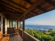 Lovely seaview of Praia do Rosa beach from the balcony of the private chalet Master 2, in Santa Catarina, south of Brazil