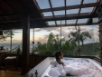 Hot tub with a wonderful view to Praia do Rosa