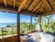 Hot Tub with panoramic view of Praia do Rosa